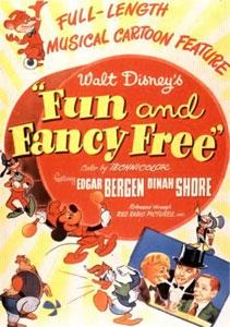 ディズニーの『小ぐま物語(ファン・アンド・ファンシー・フリー)』