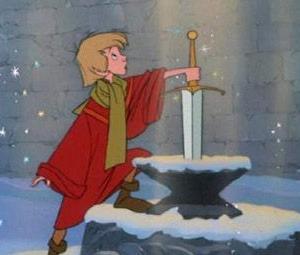 ディズニーの『王様の剣』