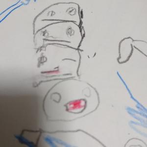 4歳児の絵と最近