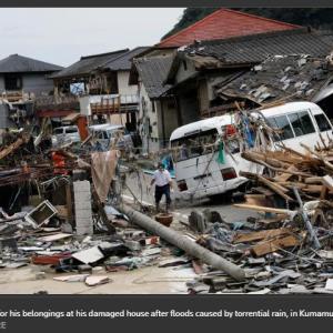 熊本県球磨村の水害の酷さに驚く