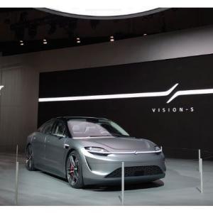 何と今年の初め、SONYが電気自動車を発表していた
