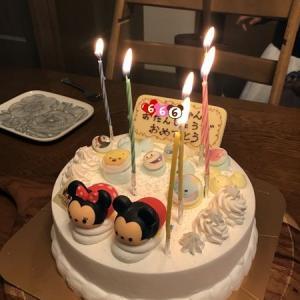 コロナ感染予防の自粛の考え方&娘6歳の誕生日お祝いwith祖母