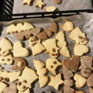 毎年恒例の■ハロウィーン■クッキーづくり