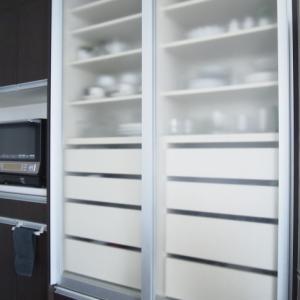 *食器棚収納*家族の意見を取り入れたらこうなりました