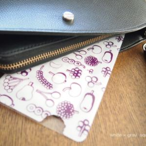 財布のスッキリ化!!レシートはもう財布に入れない(´∀`*)