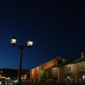 夏の北海道一人旅2019⑧小樽の街をぶらぶら散歩、キラキラ運河。