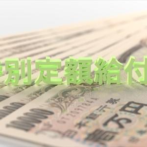 特定定額給付金10万円、振込確認!