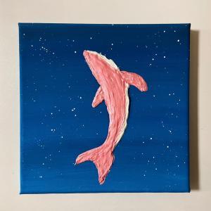 ピンククジラ。