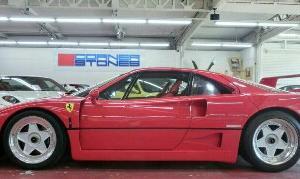 いちおしフェラーリ【F40 と アラバン355】〈rossoauto通販〉