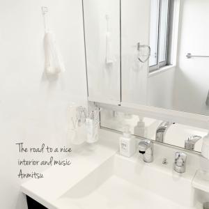 セリアで浮かす!掃除が楽な洗面台、歯ブラシ編