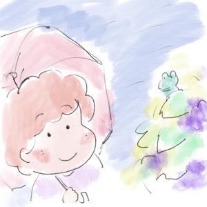 姑っちのビニール傘
