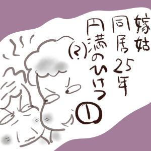 嫁姑同居25年円満(?)のヒケツ①