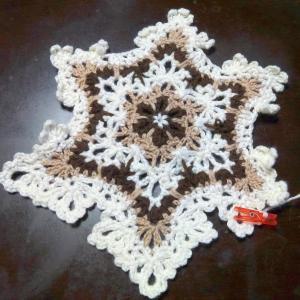 続・100均糸と余り糸で編み図不要のカーディガン