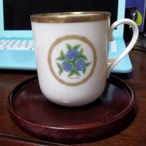 新春スイーツとベルサイユの紅茶