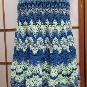レース編みのドレス出来上がり♡雨の日の愉しみ