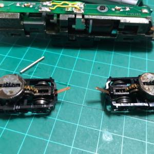 MINITRIX SNCB54 ディーゼル機関車のメンテナンス