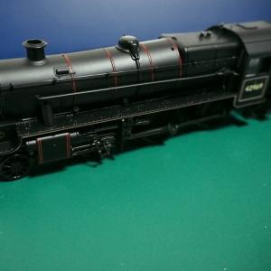 Stanier Mogul 蒸気機関車 入線