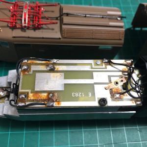 RIVAROSSI FS E646をDCCサウンド改造(その2)