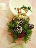 クリスマスの飾り作り