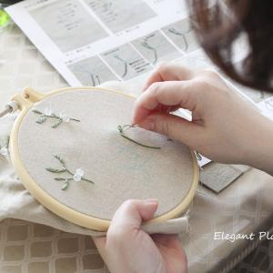 ビーズ刺繍×カルトナージュ最終日