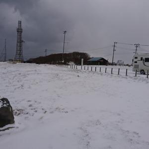 キャブコンのジル520。本格的な雪道でも全く問題なし♪