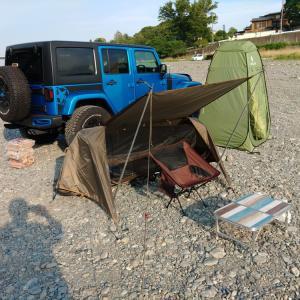 キャンプは、やっぱりテント泊が好き♪