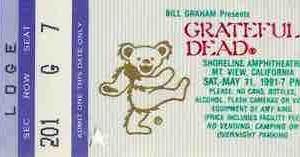 """今僕はこんな音楽を聴いている (自称「音楽鑑賞家」)・サルでも分かる""""サイケデリック・ミュージック""""入門 """"Grateful Dead - Shoreline 5/11/1991"""""""