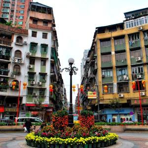 世界の市場(マーケット)から @ マカオ(澳門)・三蓋燈(嘉路米耶圓形地) 「ビルマ人街のマーケット」