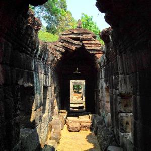 旅の空 @ カンボジア・シェムリアップ 「アンコール・ワット遺跡群 プリヤ・カーン(Preah Khan、 ប្រាសាទព្រះខ័ន)周辺の空