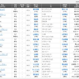 【予想】日吉(ひよし)オープン2020 タービランス1年ぶりの勝利へ