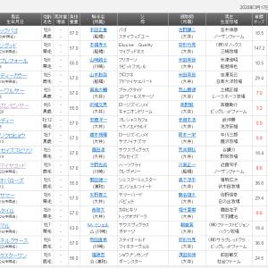 【予想】隅田川オープン2020 リコーワルサー地力上位