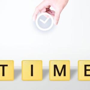 時間がある時に、後々の時間を作っておく