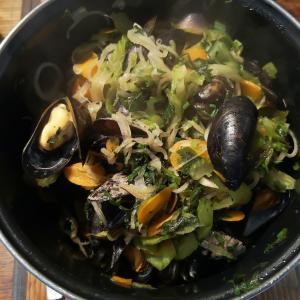 ムール貝の美味しい季節となりました♪