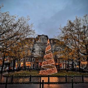 今日からクリスマスイルミネーション点灯♪
