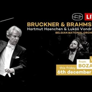 【無料ライブ配信】今夜のコンサート ベルギー国立管弦楽団 x ルーカス・ヴォンドラチェック