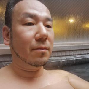 日本到着翌朝は露天風呂からボンジュ〜ル♪