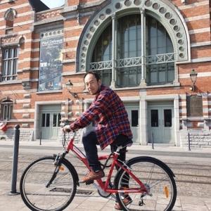 今日の気晴らしはサイクリング♪