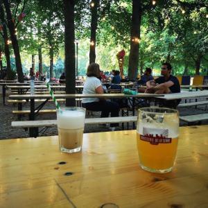 近所の公園で納涼♪ @ Parc de Bruxelles