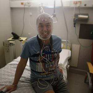 睡眠ポリグラフィー検査で1泊2日の入院