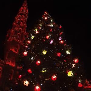 クリスマスツリー点灯♪ @ グランプラス