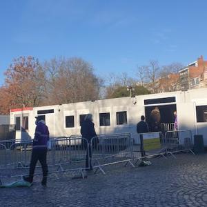 意外と身近なところにあるPCR検査所 in ブリュッセル