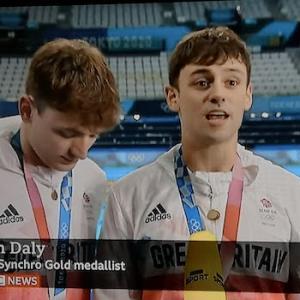 飛び込み王子トーマス・デーリー 4大会13年越しのオリンピック金メダル♪ @ シンクロ高飛び込み