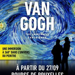 360℃ビジュアルアート体験!「ヴァン・ゴッホ展」 @ Bourse