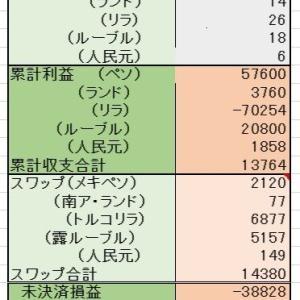 6/21 (ペソランドリラルーブル)投資