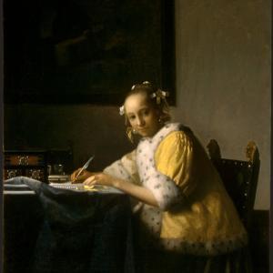 発達障害 障害年金 手紙を書く女