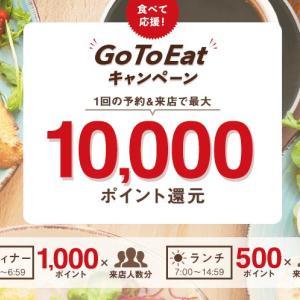 【GoToイート】ホットペッパーでディナーを予約すると1000ポイントもらえる!もらったポイントで回転可能かも【GoTo鳥貴族】