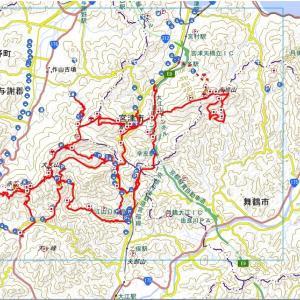 2019 大江山連峰 赤赤トレイル縦走記①(スタート~赤石ヶ岳)