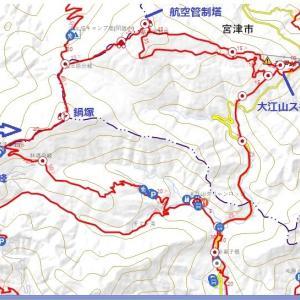 2019 大江山連峰 赤赤トレイル縦走記⑤(航空管制塔~大江山スキー場)