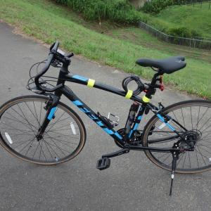 クロスバイクにドロップハンドル装着(R2.8.8)