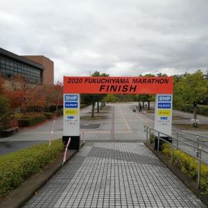 福知山マラソンの日にハーフ(R2.11.23)